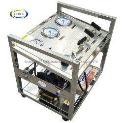 Modèle de marque : Gu-Gtb Terek-25 150 à 300 bars de pression de carburant pneumatique exempts d'huile de l'oxygène de l'équipement de la pompe de gavage