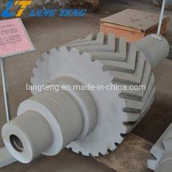 De gesmede Schacht van de Pignon met Dubbel Spiraalvormig Toestel voor de Versnellingsbak van de Macht van de Wind