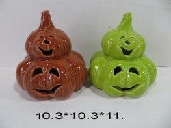 2 Geschichte-Halloween-Kürbis-Dekorationen