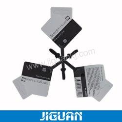 مربع الشكل البسيط بطاقة تعليق رخيصة مع حبال البلاستيك