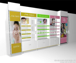 Tienda Cuidado de la piel contra piel pedestales de exhibición de productos