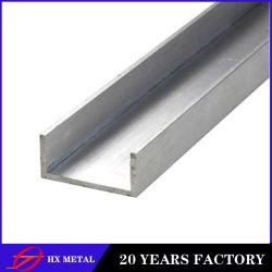 EN 10025-2: 2004 S235jr S355jr S355j2+N Upn30-Upn300 Steel U Channel Bar
