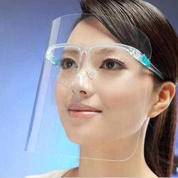 يجتمع قناع وضوح واقي الوجه المانع للضباب والمتين أقنعة شفافة للوجه شفافة مريحة وآمنة للاستخدام من البلاستيك للبالغين