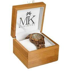 Il contenitore di vigilanza di legno di bambù di qualità superiore della vernice di spruzzo può essere contenitore di vigilanza personalizzato del commercio all'ingrosso della casella di memoria di marchio