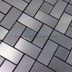 Zilver Gouden Brush Aluminium Aluminium Composite Material