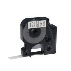 Nastri per tubi termorestringenti Dymo compatibili con Puty 18051 6mm nero Bianco per le stampanti Dymo Rhino