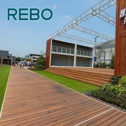 Il bambù durevole antitarme ha costruito la plancia di Decking del padiglione carbonizzata legno