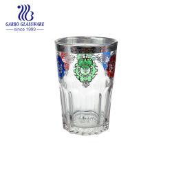 Morroccoのアラビア様式の多彩な厚板ガラスのコップ(GB03016406-TH5)
