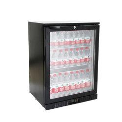 Dispositivo di raffreddamento 0-10&deg della barra del nero del frigorifero del vino del piano d'appoggio; Dispositivo di raffreddamento nero della birra della barra di C 108L