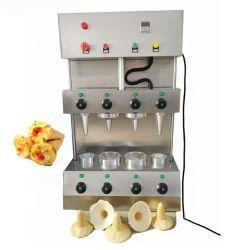بيع آلة صنع مخروط البيتزا التلقائي للصلب المقاوم للصدأ آلة تحضير الخبز التجارية بفرن الوافل
