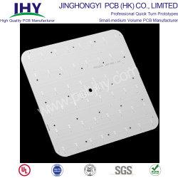 Низкая цена кнопки Односторонняя алюминиевая FR4 1,6 мм для печатных плат для светодиодного освещения