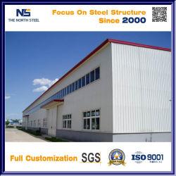 Costruzione d'acciaio prefabbricata dell'ampia luce per il magazzino o il workshop