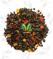 Lotus van de Munt van de Aardbei van de melk verliest de Thee van het Aroma van het Fruit van het Gewicht
