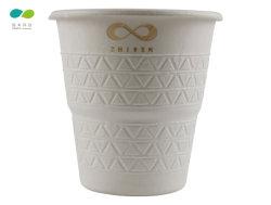 100% biodegradierbare Zuckerrohr-Massen-Papier-Kaffeetasse