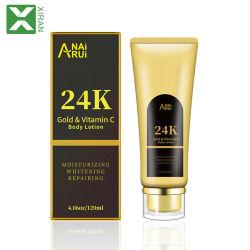 Het natuurlijke Organische 24K Gouden Lichaam die van de Vitamine C de Room van de Lotion van het Lichaam van de Verlichting van de Lotion witten