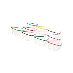 Verres de lunettes de Safeview assemblés couleurs assorties