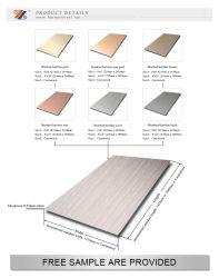 AISI 201 304 Farben-Haarstrichdekorativer Edelstahl für Bulilding Material