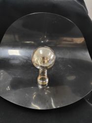 Ampoule de verre de couleur orange de l'ombre pour feux de la poignée de commande