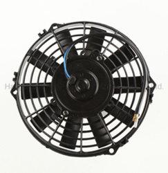 Fabrieksprijs 7 inch 12V 24V DC airconditioner condensor Motorventilator voor voertuig