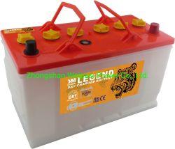JIS-N90L 12V90AH сухой взимается начиная аккумулятора электрический погрузчик на лодке трактора генератор колесных мотоциклов шины прицепа мусора скребка