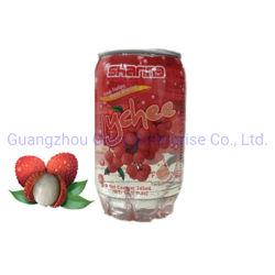 345 ml pet puede Litchi Soda-Drink bebidas gaseosas zumo