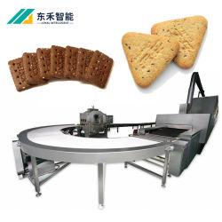 مصنع بسكويت ناعم وعرة تلقائي ساندويتش بسكويت صنع آلة معدات إنتاج البسكويت