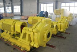 L'exploitation minière centrifuge horizontale du traitement des minéraux de la pompe à lisier pièces interchangeables A05 R55