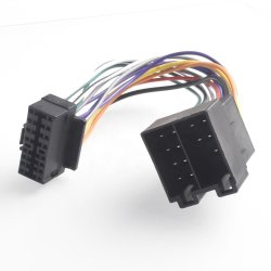 Adaptador macho de alta calidad para la Radio Cable cableado conector estéreo para coche de alquiler de reproductor de CD