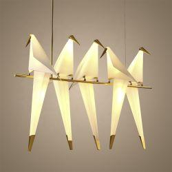 Van het LEIDENE van de Zaal van nieuwe Kid&Prime van de Eetkamer van de Woonkamer van het Restaurant van de Kroonluchter van het Metaal van de Lamp van de Vogel van het Ontwerp de Lamp van de Tegenhanger Ontwerp van de Vogel