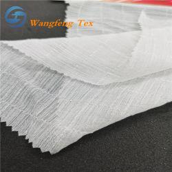 100% polyester Dobby Yoryu Tissu pour la tenue vestimentaire