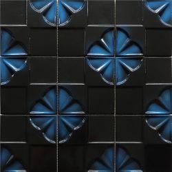 Декорации интерьера мозаика в форме квадрата Backsplash цемента мозаики