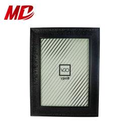 5*7 em preto estilo clássico Foto molduras fotográficas com vidro Tampo Exibir