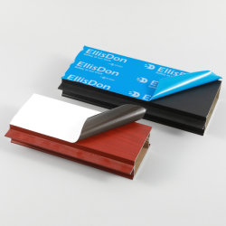 Pellicola del PE della pellicola del portello della finestra di alluminio della pellicola protettiva del nastro adesivo