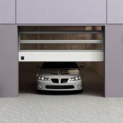 자동차 전시실을%s 부분적인 차고 높은 쪽으로 전체가 다 보이는 자동적인 미끄러지기