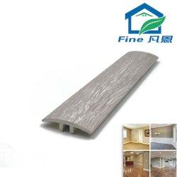 PVC ligero T-moldura rodapié de piso de vinilo Fnptm1