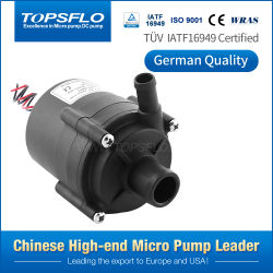 De Alto Rendimiento de larga vida útil de 12V o 24V DC Mini bomba centrífuga de agua caliente pequeña circulación eléctrica sumergible bomba de agua