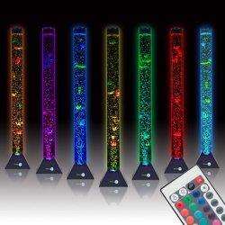 Uma bolha de ar LED da lâmpada da luz do tanque de peixes de aquário do tanque de peixes