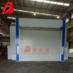 Cabina de pintura Hornos para autobuses con filtrado de tipo seco y de lado el proyecto de flujo de aire