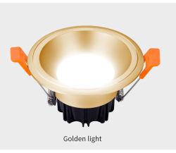 Spot down a soffitto rotondo LED ad alta potenza commerciale da 7 W per interni Faretto a LED incassato SMD per illuminazione di lampade
