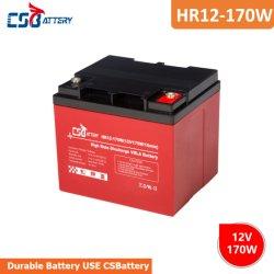 Csbattery 12V42ah мощности AGM аккумулятор для Power-Bank-солнечной/Hybrid-Solar-Power/Solar-Bts/Резервная мощность