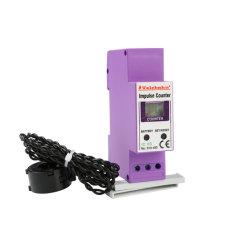 3 Цифры 0 - 999 светодиодный дисплей CR123A Аккумуляторная батарея индуктивного контура уравнительный молнии импульсный счетчик