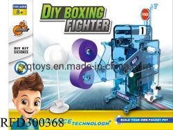Lutador de boxe bricolage de alta qualidade científica do Kit de brinquedos