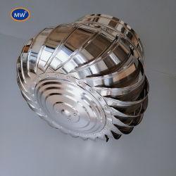 높은 튼튼한 보편적인 Whirligig 지하실 환기를 위한 자연적인 터빈 통풍기 지붕