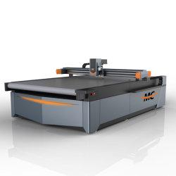 Velocidad automático CNC cuchilla redonda un paño de tela de la máquina de corte de cuero 1625