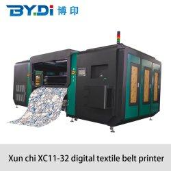 Alta velocidade de Grandes Formatos camisola T de tecido de algodão a Impressão Digital da Máquina para 32 Ricoh G6 Cabeçote de Impressão