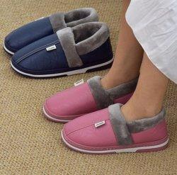 Factory Direct de la laine de gros pantoufles pantoufles femme Fourrure de coton d'hiver Design Fashion hiver pantoufles