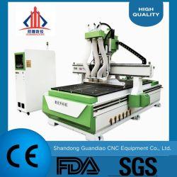 Software de Itália 5 Axis Ponte de CNC de corte de pedra e uma pia Millling Corte Máquina de serra