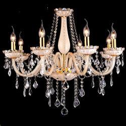 Les lustres en cristal de couleur champagne pour la maison d'éclairage (WH-CY-29)