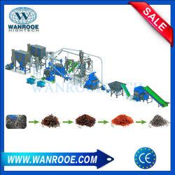 300kg-1000kg/h de chatarra de la Capacidad de pelado de cable de alambre de cobre / equipo de procesamiento de la máquina