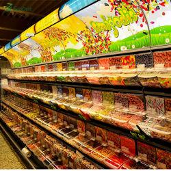 小売店砂糖およびキャンデーの陳列だなの表示棚